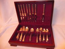 1940's, Harmony House AA+ SilverPlate Flatware Serenade Pattern 65 Pcs in Fort Benning, Georgia