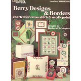 BERRY DESIGNS & BORDERS, 1981 Cross Stitch Needlepoint Charts LA #198 in Chicago, Illinois
