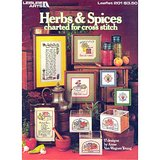 HERBS & SPICES, 1981 Cross Stitch Charts LA #201 in Westmont, Illinois