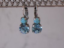 Beautiful Silver Plated Mariana Swarovski Crystal Earrings in Bolingbrook, Illinois