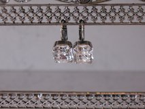 Beautiful Swarovski Crystal Earrings with Silver Plating by Mariana in Bolingbrook, Illinois