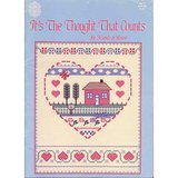 CROSS STITCH CHART BK: IT'S THE THOUGHT THAT COUNTS in Westmont, Illinois