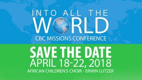 INTO ALL THE WORLD CBC MISSIONS CONFERENCE! in Beaufort, South Carolina
