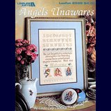 ANGELS UNAWARES CROSS STITCH SAMPLER CHART in Chicago, Illinois