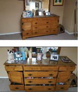 Ethan Allen dresser with mirror in Schaumburg, Illinois