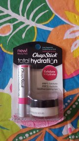 chap stick total hydration lip scrub and chap stick in Naperville, Illinois