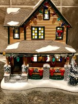 Department 56 'A Christmas Story' lighted house in Joliet, Illinois