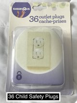 Package of 36 Child Safety Outlet Plugs Brand New in Fort Irwin, California