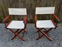 Director Chair Set in Fort Campbell, Kentucky