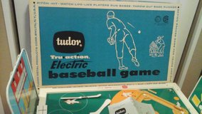 1960's Vintage  Tudor Electric Football & Baseball Games in Naperville, Illinois