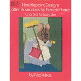 BEATRIX POTTER NEEDLEPOINT CHARTS Rabbits & Mice, 1976 Weiss in Wheaton, Illinois