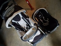 Carseat and stroller set  with free basic bouncer in Fort Leonard Wood, Missouri