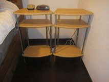 two End Tables for bed room in Ramstein, Germany