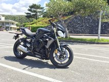 2013 Triumph Street Triple 675 in Okinawa, Japan
