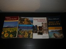 Assortment of Travel Books in Ramstein, Germany