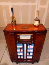 Antique GE Radio Bar Conversion in Algonquin, Illinois