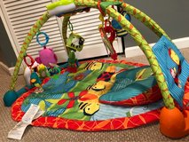 Bright Starts 2-in-1 Convert Me Activity Table and Gym in Plainfield, Illinois