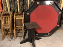Poker Table with 6 Chairs in Fort Leonard Wood, Missouri