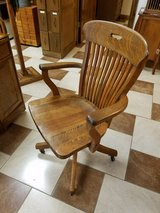 Antique Oak Desk Chair in Fort Leonard Wood, Missouri