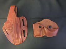 Gould & Goodrich Pancake Holster and Cuff/Mag Case in Camp Pendleton, California
