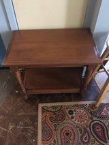"Very nice side table  18 1/2 deep 22""tall in Cleveland, Texas"