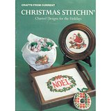 1984 Current CHRISTMAS Counted Cross Stitch Charts Bklt in Lockport, Illinois