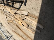 Free woods in 29 Palms, California