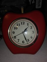 Apple clock in Fort Campbell, Kentucky