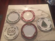 CHRISTMAS PLATES in Hampton, Virginia
