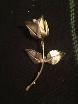 Vintage American Rose pin in Norfolk, Virginia