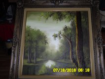 "Oil painting by "" Lill "" Nature infused with light. in Nellis AFB, Nevada"