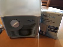 Pro care cool mist humidifier with filter in Naperville, Illinois