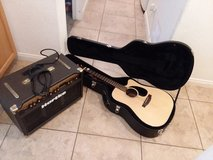Acoustic guitar Takamine + Hartke Amp in Lake Elsinore, California
