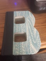 """B"" - Hard Cover Readers Digest Book cut into the shape of the letter ""B"" in St. Charles, Illinois"