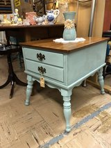 Vintage Painted Distressed End Table in Perry, Georgia