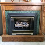 Corner Cabinet Fireplace in Fort Campbell, Kentucky