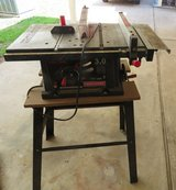 "Craftsman 10"" Table Saw & Stand in Kingwood, Texas"