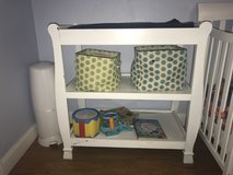 Changing table, waterproof pad, and two covers in Cleveland, Texas