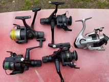 Fast cast reels used in Camp Lejeune, North Carolina