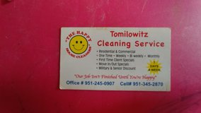 Residential and Commercial Cleaning Services in Temecula, California