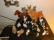 NICE COLLECTION OF BONE CHINA DOGS in Yucca Valley, California