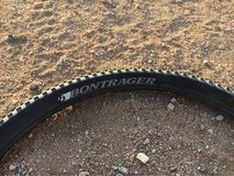 Bontrager XR1 front and rear 29x2.2 and 29x2.0 in Yucca Valley, California
