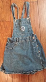 Denim Overall Skort in Houston, Texas