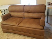 RV Couch Bed Leather in Alamogordo, New Mexico