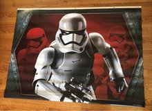 Vinyl Stormtrooper Poster in Bolingbrook, Illinois