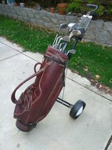 Vintage Ben Hogan Golf Bag with clubs in Fairfield, California