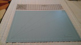 Quilting ruller  and large cutting mat New never used and a rollarycutter with a new blade in Camp Lejeune, North Carolina