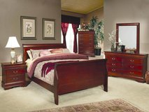 NEW Queen Sleigh bedroom group,5 piece Set in Wilmington, North Carolina
