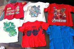 Lot of summer boy toddler T-shirts Size 3T and 4T in Stuttgart, GE
