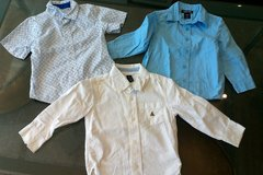 Lot of 3 button down shirts Size 3T in Stuttgart, GE